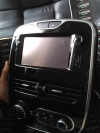 Renault Clio IV Navigation Radio Multimedia 281153868R with frame&air condition unit